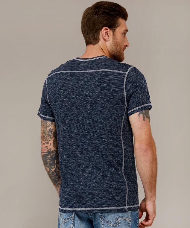 wendell short sleeve f18, NAVY WHITE, hi-res