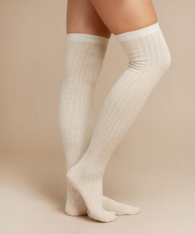 over the knee socks, OATMEAL, hi-res