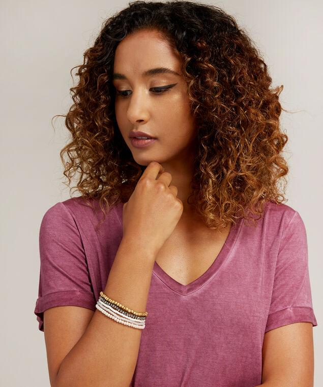 multi pack beaded bracelets, MULTI, hi-res
