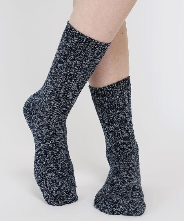 ribbed sock, DENIM MIX, hi-res