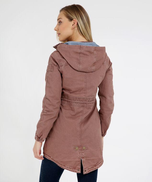 anorak jacket - wb, MAUVE, hi-res