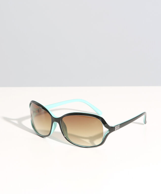 multi colour sunglasses , BLACK/MINT, hi-res