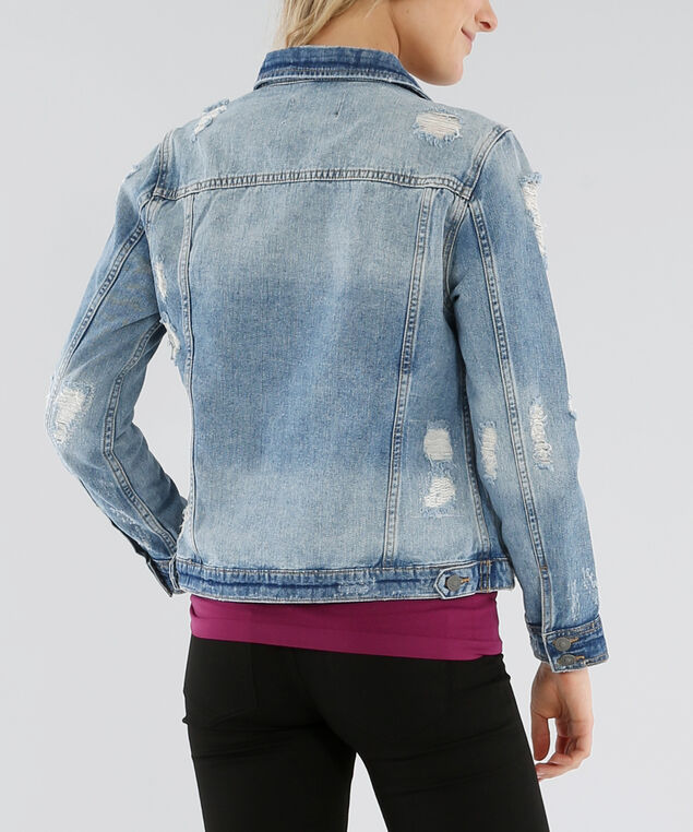 sinclair destructed denim jacket - wb, MSW, hi-res