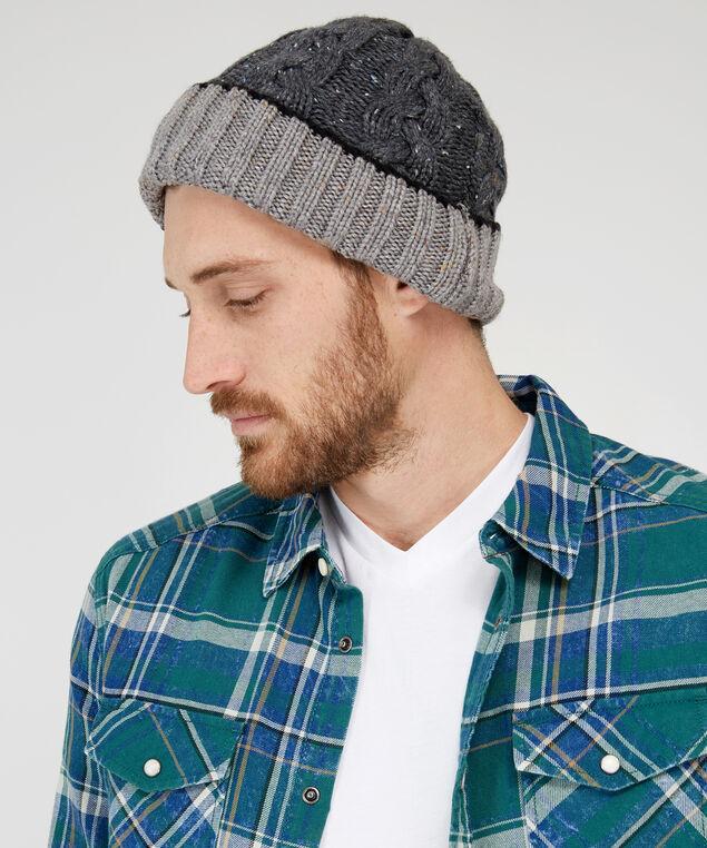 cuffed hat, CHARCOAL, hi-res
