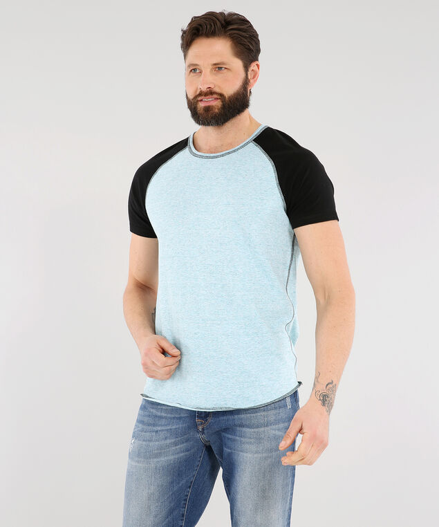 cedric short sleeve, BLACK, hi-res