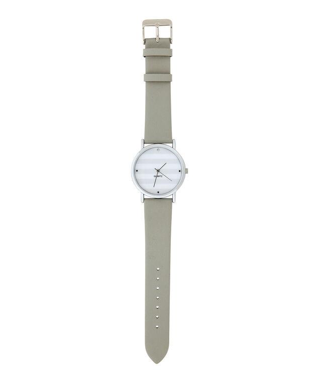 stripe watch, GREY/SILVER, hi-res