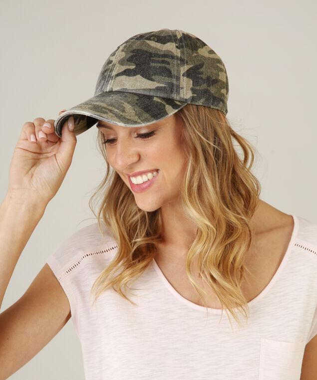 camo baseball hat, CAMO PRINT, hi-res