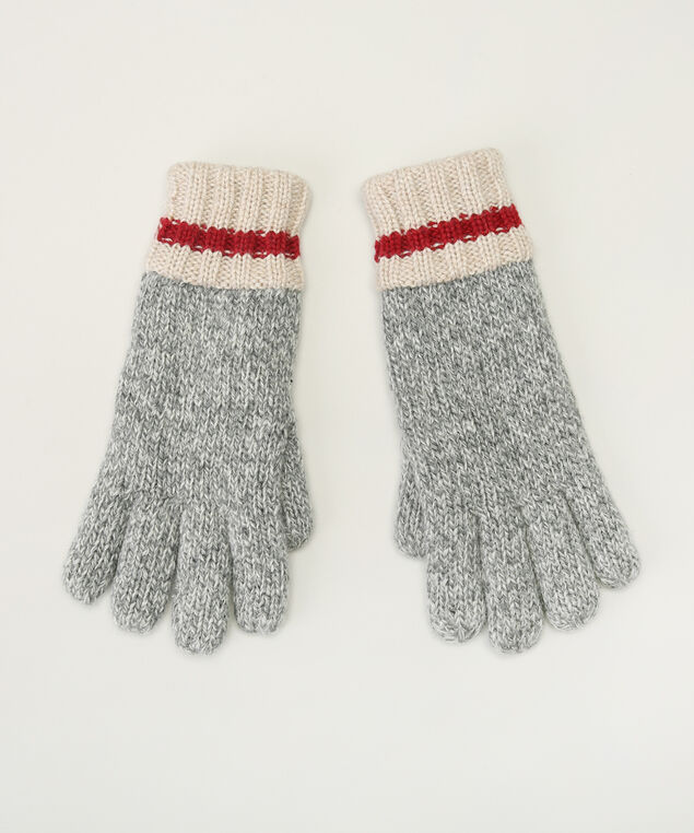 fleece lined gloves, LT GREY CAB, hi-res