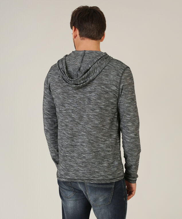 hooded henley, CHARCOAL, hi-res