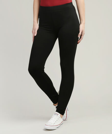 brushed legging, BLACK, hi-res