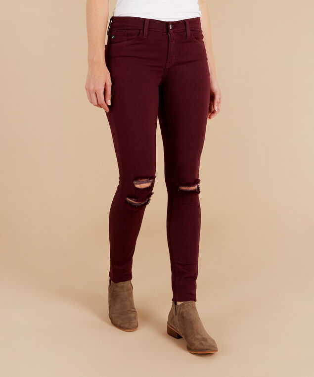 chanel burgundy skinny, , hi-res