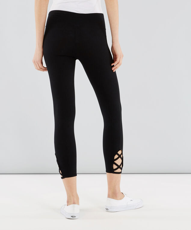 nala lattice crop legging, BLACK, hi-res