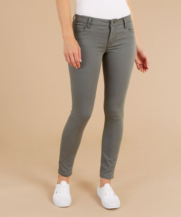 skinny ankle colour pushup jean basil, , hi-res