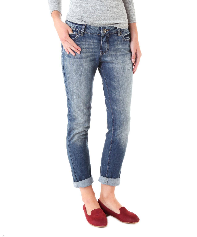 boyfriend destroyed dsw bootlegger jeans. Black Bedroom Furniture Sets. Home Design Ideas