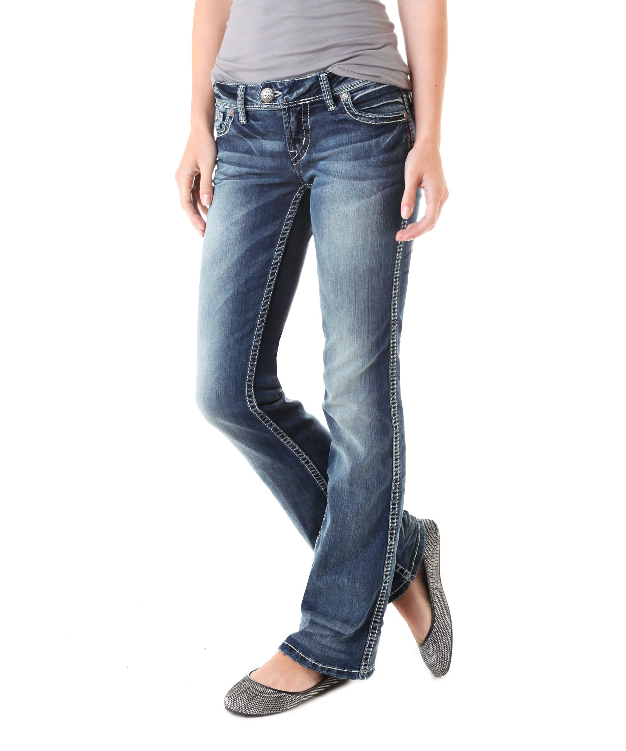 Polyester Jeans Mens