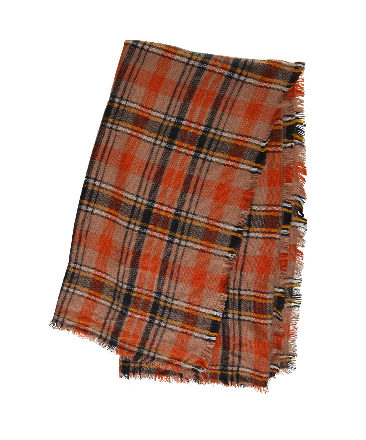 blanket scarf plaid how to wear
