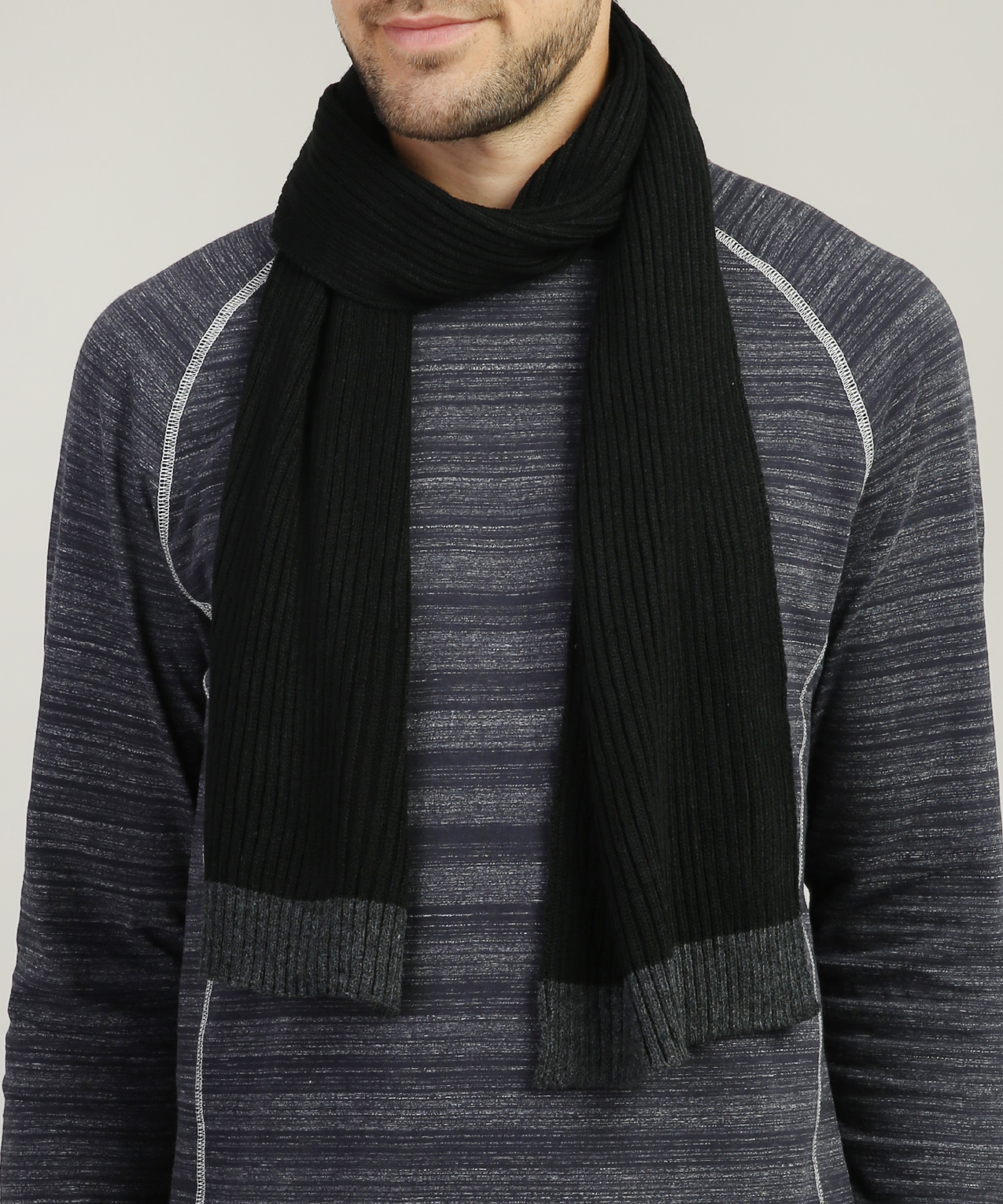 Men S Cable Knit Scarf Distillery