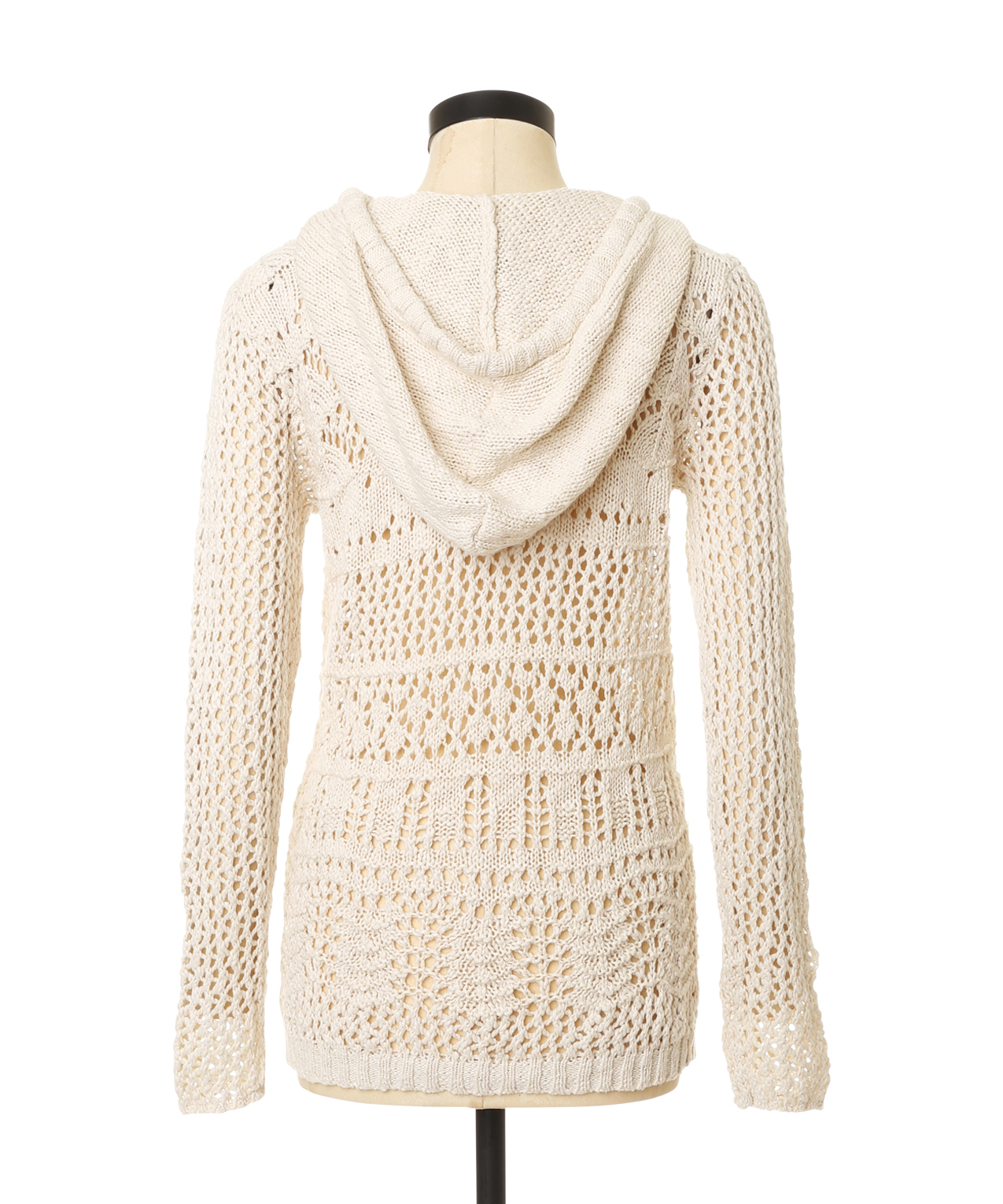 crochet hooded sweater | triple 5 soul