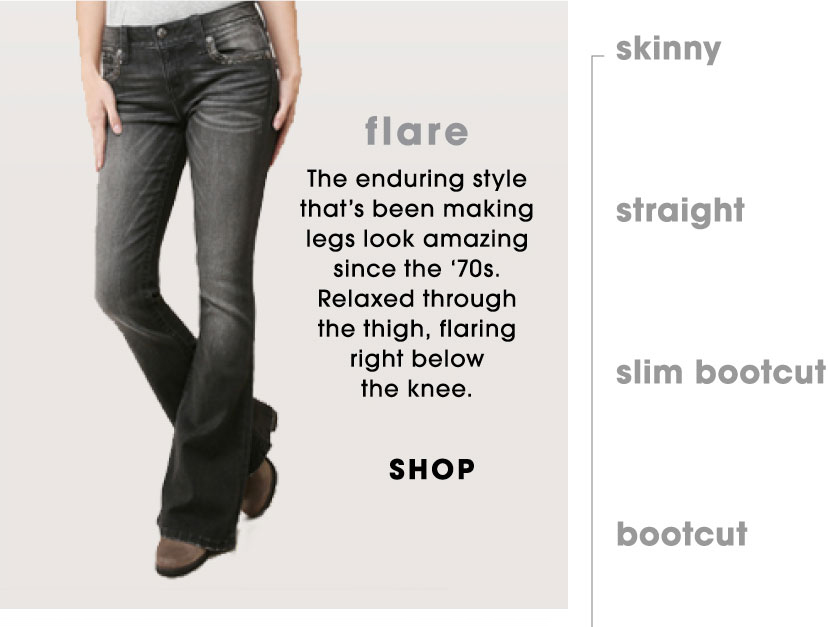 Shop Flare Jeans