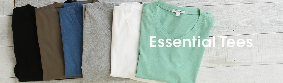 Men Essentials Tees