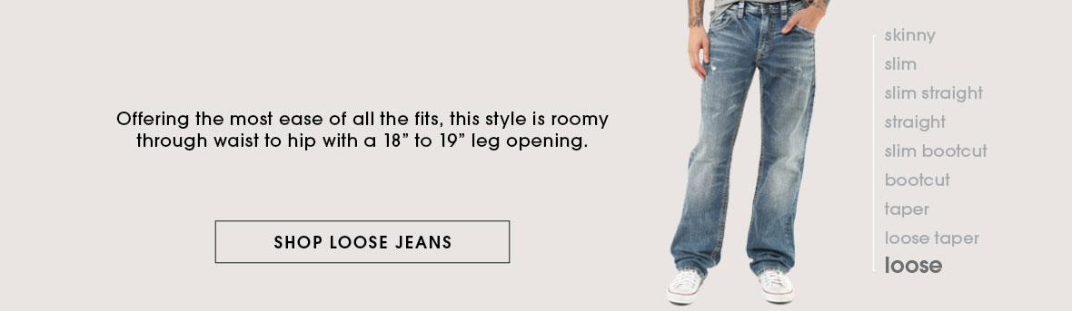 Shop Loose Jeans