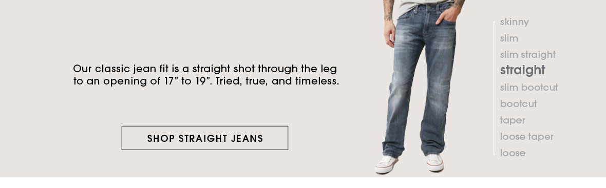 Shop Straight Jeans