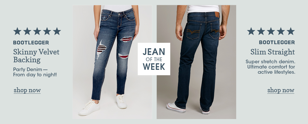 Shop Men and Women Jeans