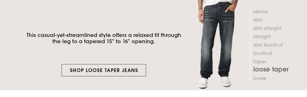 Shop Loose Taper Jeans