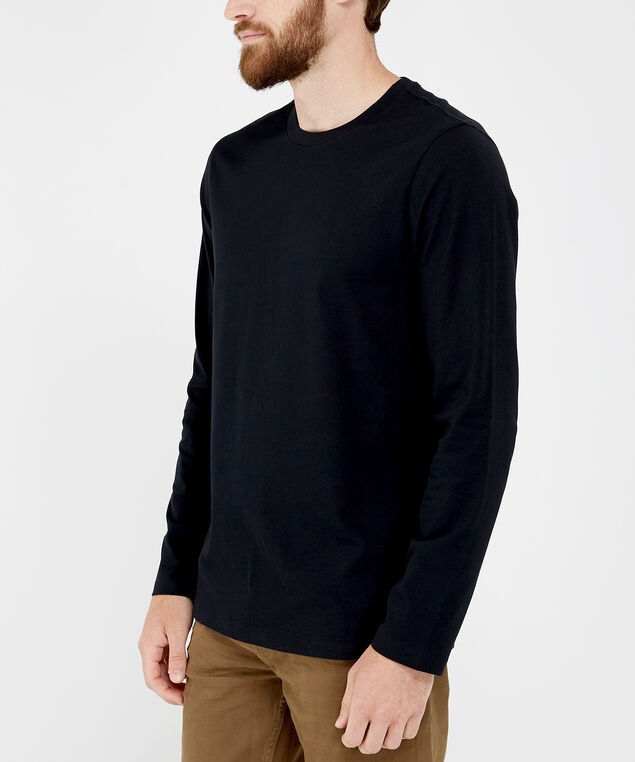 owen long sleeve, BLACK, hi-res