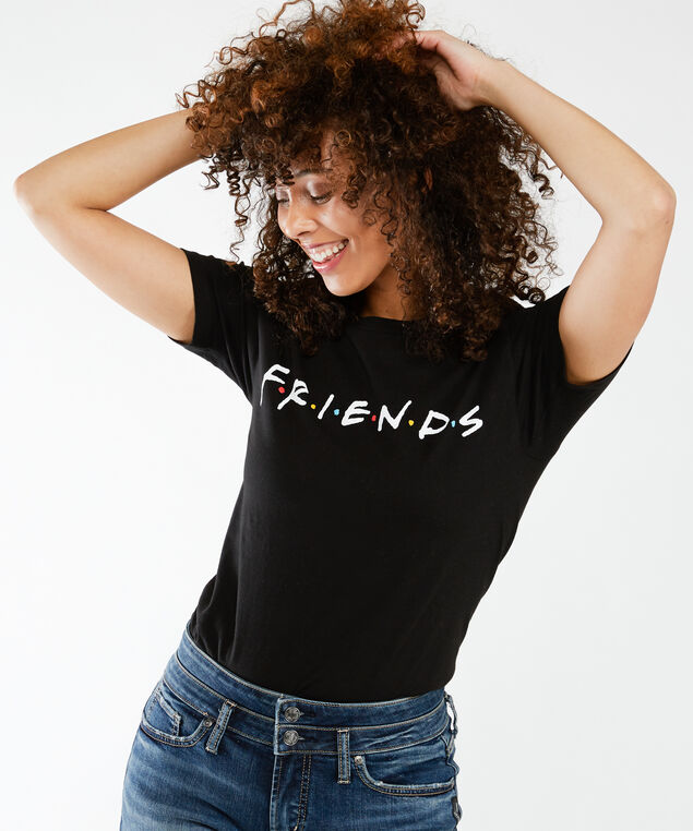 friends tee, Black