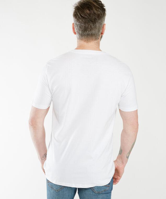 super mario screen tee shirt, White