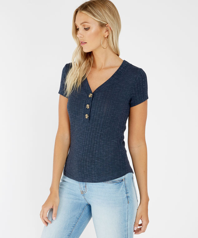 henley tee - wb, FOREST SHADE, hi-res