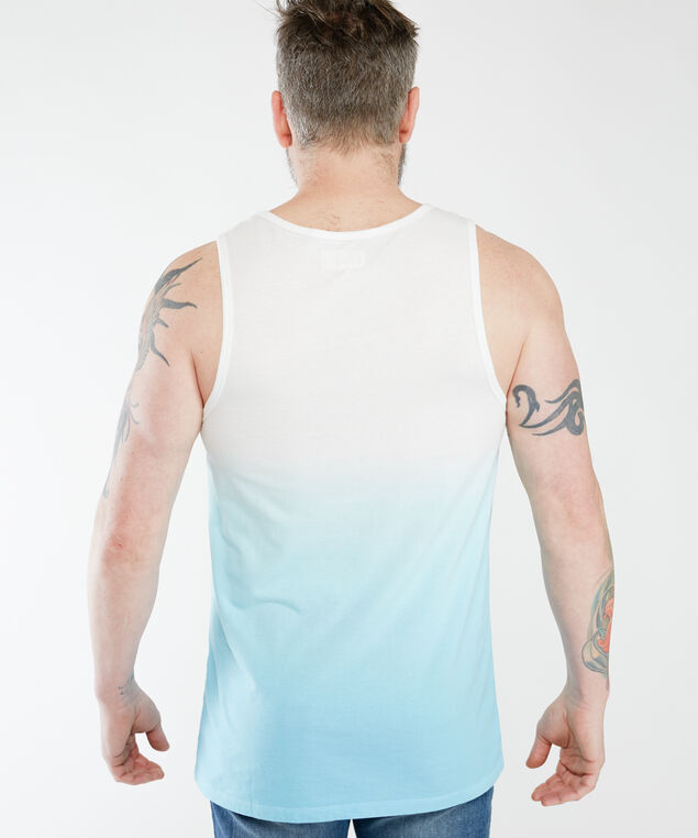 lynx, white / blue