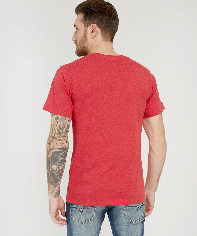 hockey canada graphic tee, HEATHER RED, hi-res