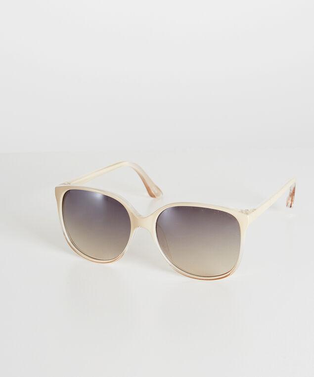 round sunglasses, LIGHT BROWN, hi-res