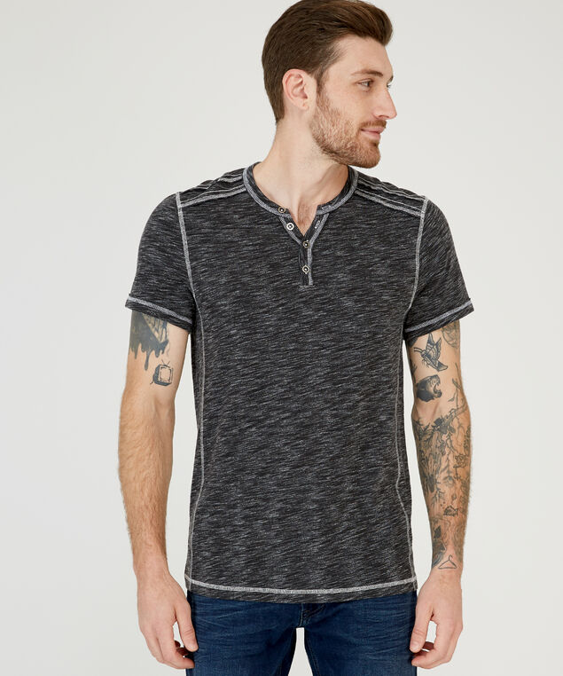 wendell short sleeve 2 f18 , CHARCOAL BLACK, hi-res