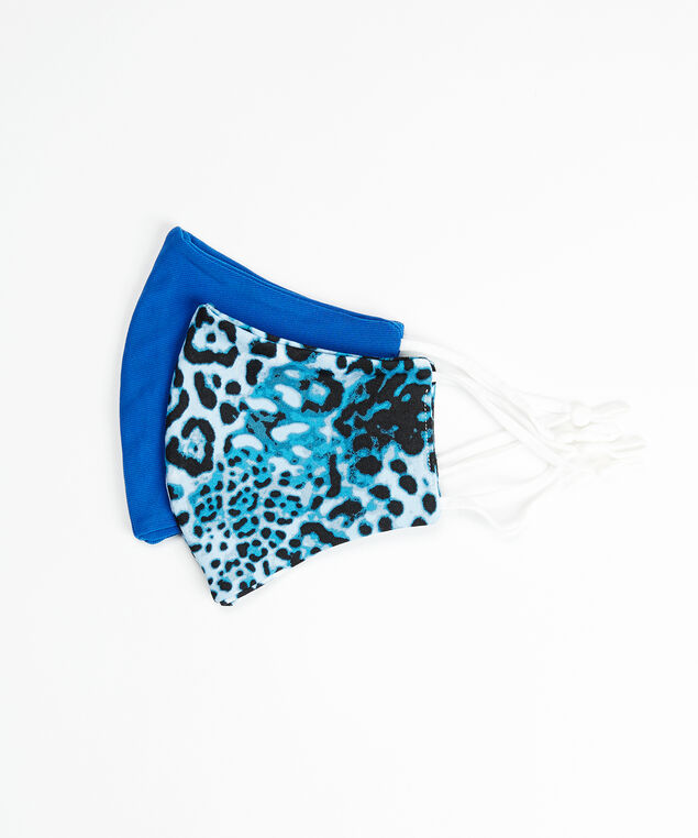 2 pack mask set, Blue Print