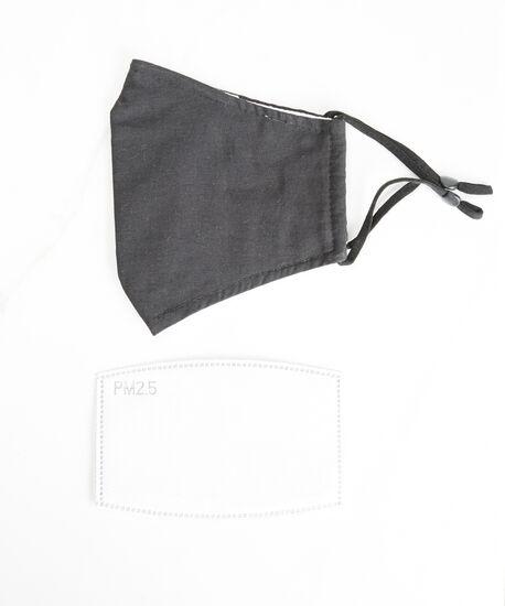 filter face mask, Black, hi-res