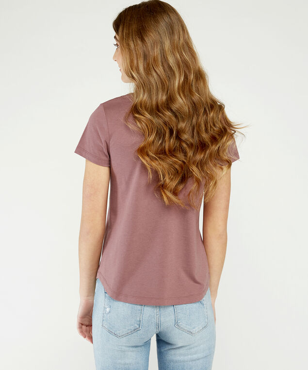 graphic tee  h20, Peach