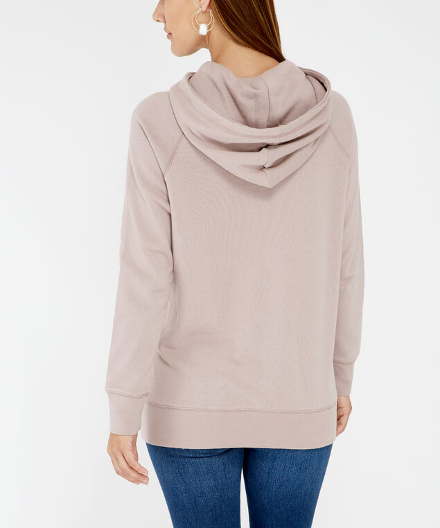 side button hoodie - wb, Pink, hi-res