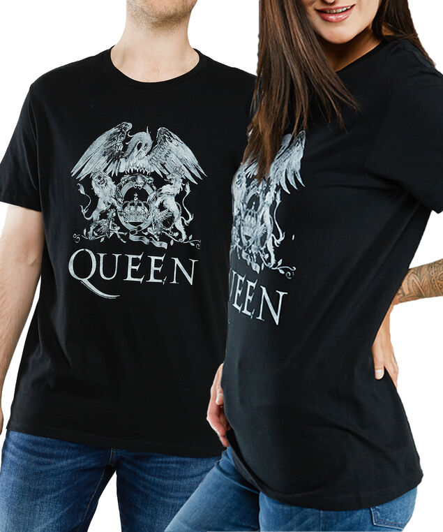 Queen unisex Tee, Black