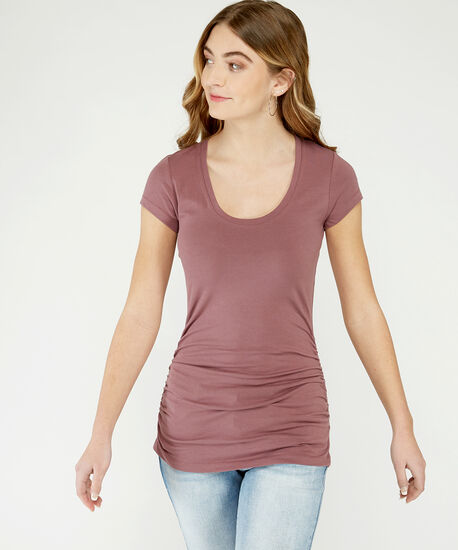 jenny ruched scoop st21, Rose Taupe, hi-res