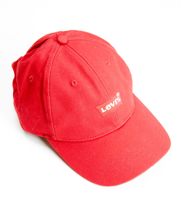 red batwing ballcap - wb, Red