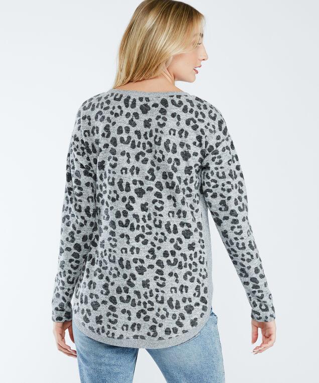 logan print f21, Lightt Grey Leopard