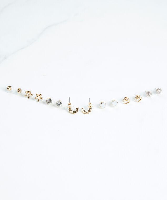 weekday earrings, Gold