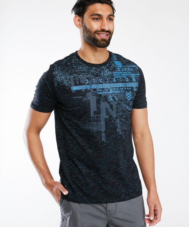 screen print tee shirt, Navy