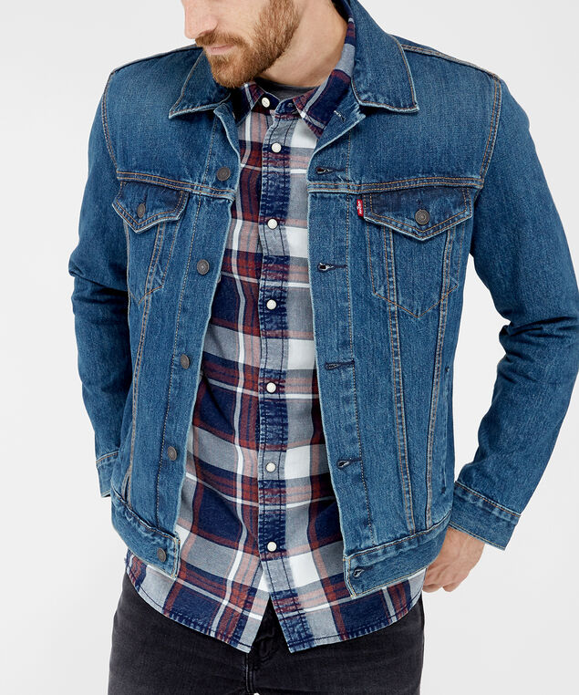 denim jacket - wb, DENIM