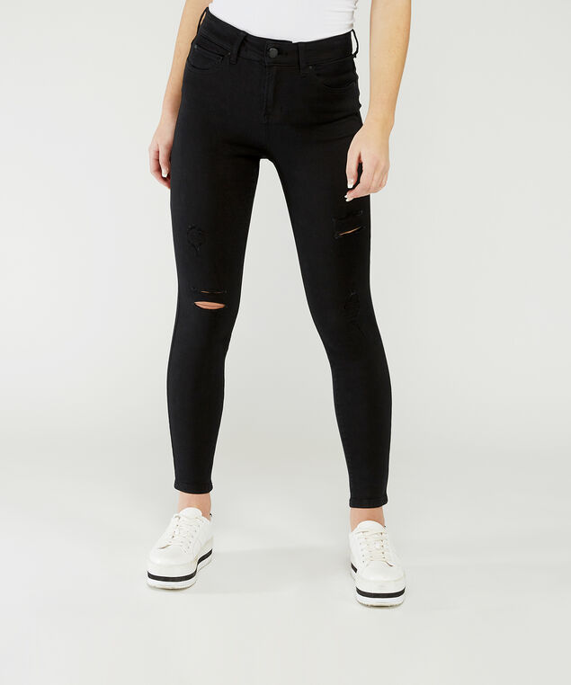 ultra high rise skinny ankle,
