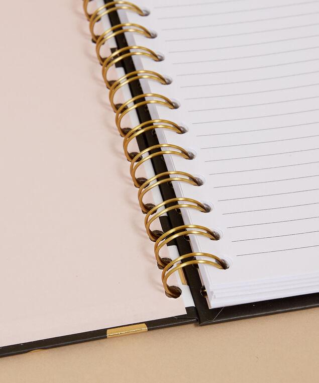 striped notebook - wb, IVORY/BLACK, hi-res