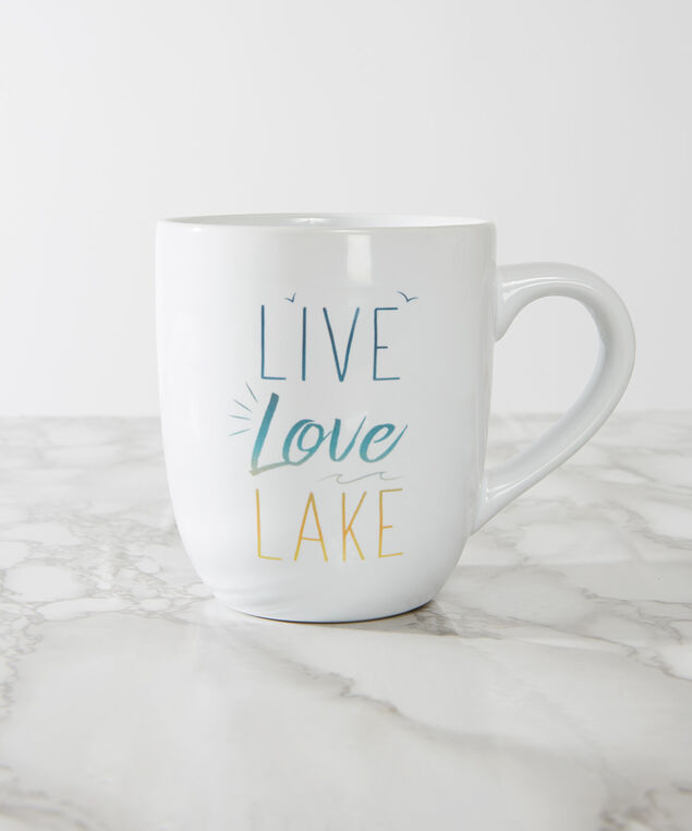 live love lake mug - wb, WHITE, hi-res